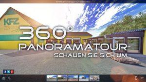 Hier geht es zum 360 Grad Rundgang des KFZ Zentrum Troppa in Guhrow