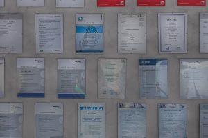 Ausbildung und Kompetenz - zertifiziert